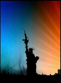 Statue of Liberty with Assault Rifle | by DiscoWeasel