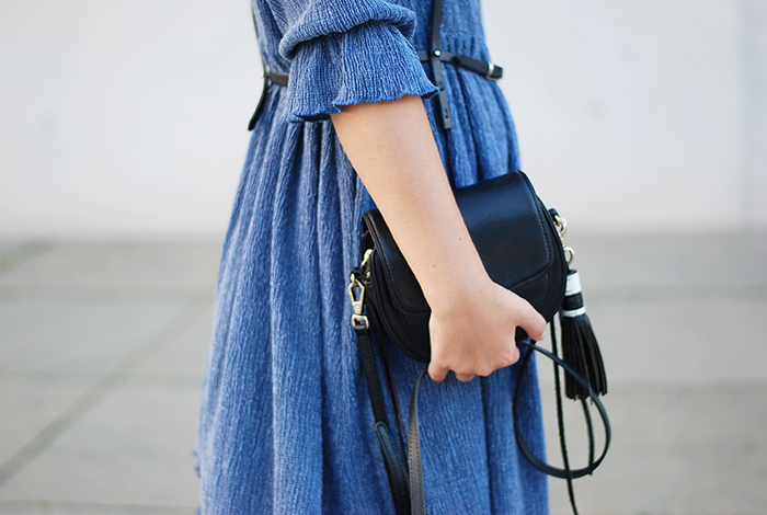 Asos-Denim-Dress-Statement-Earrings-4
