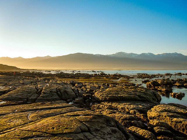 Dusk at Kaikoura