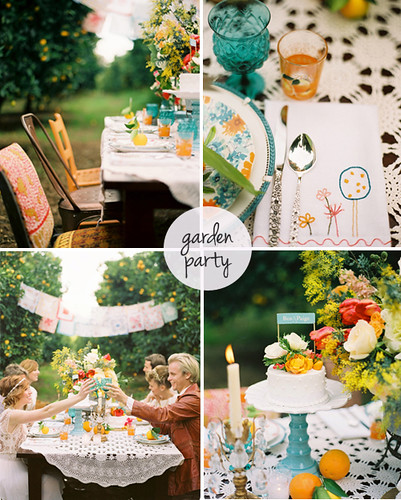garden party | by the style files
