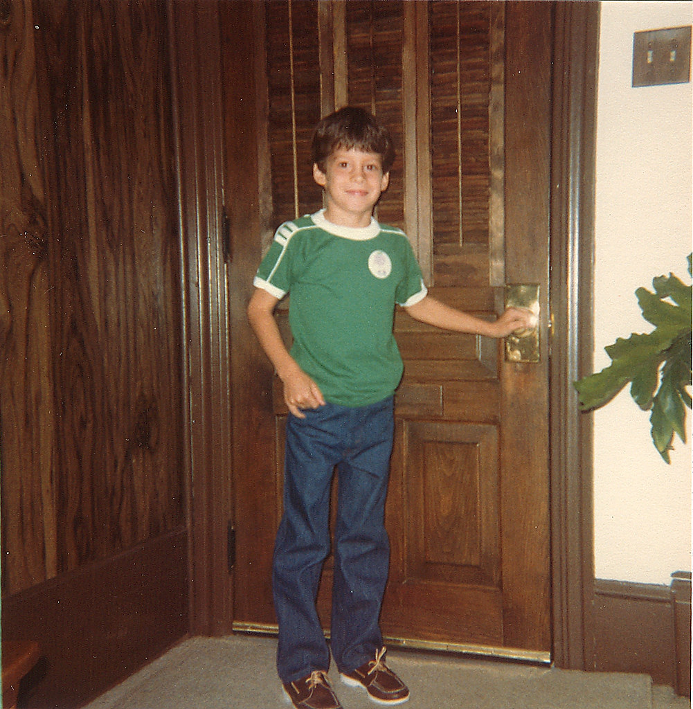 First Day of First Grade // 1980