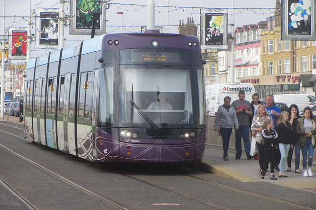 Modern Blackpool Tram (South Shore)