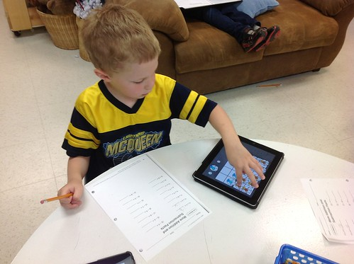 Adding with the iPad | by Kathy Cassidy