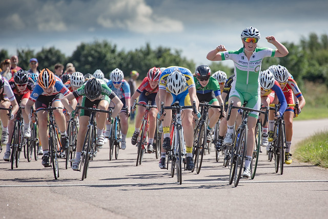 British Cycling Youth Circuit Series round six, Hillingdon, July 17 2016