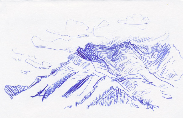 Sketchbook #99: Trip to Banff