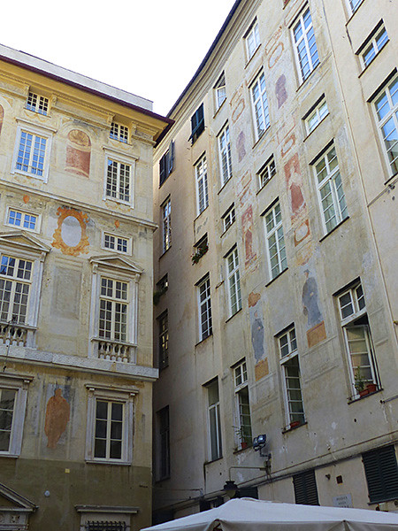 façades peintes