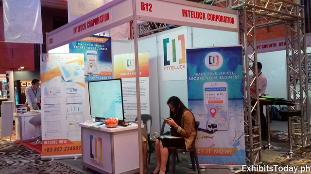 Inteluck Corporation Exhibit Booth