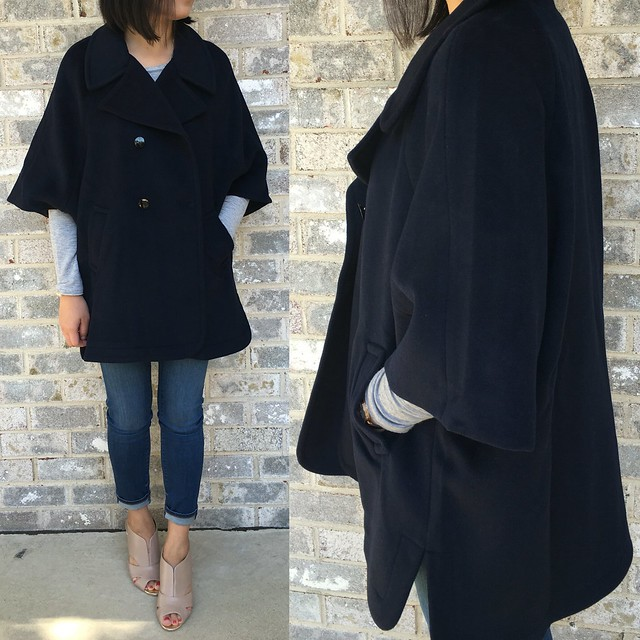 LOFT Cape Coat, size XSP