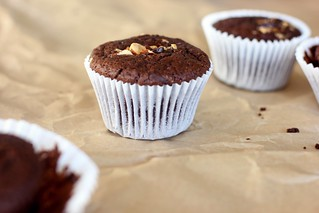 double chocolate muffins {gluten-free + vegan} | by My Darling Lemon Thyme