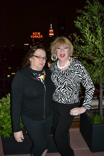 Colleen Whitaker, Lady Clover Honey, at New York City roof top party | by RYANISLAND