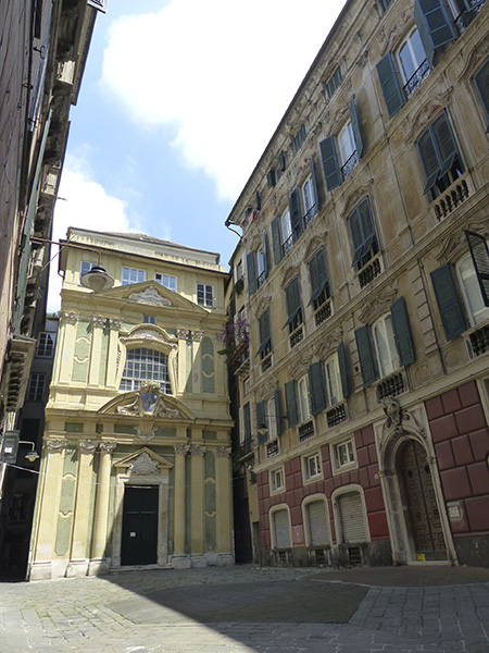 placette du vieux Gênes