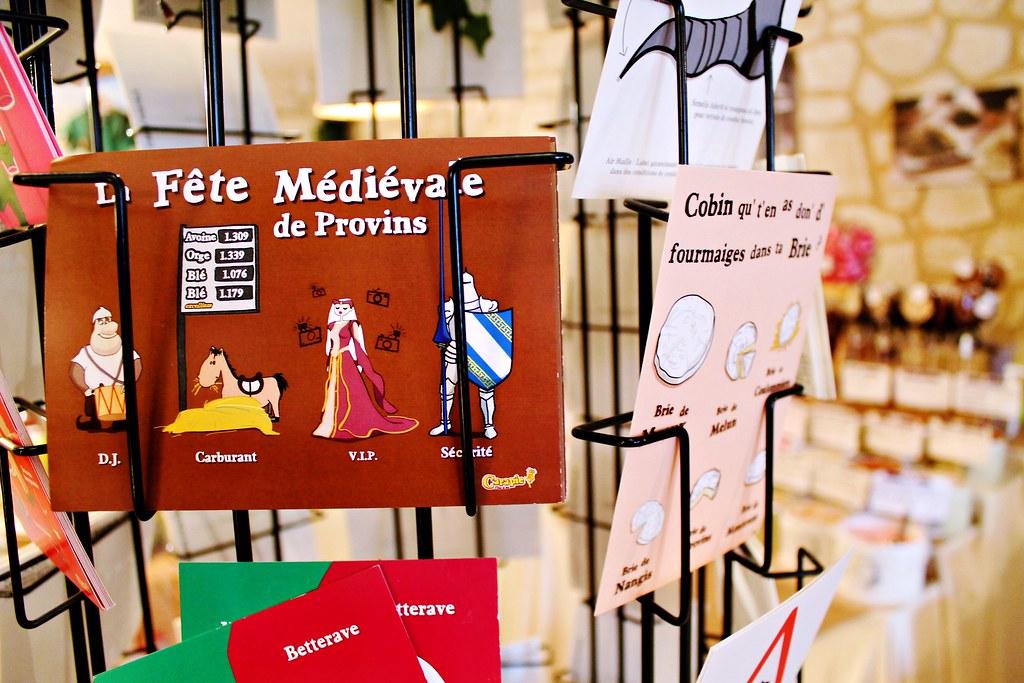Drawing Dreaming - um dia em Provins - compras