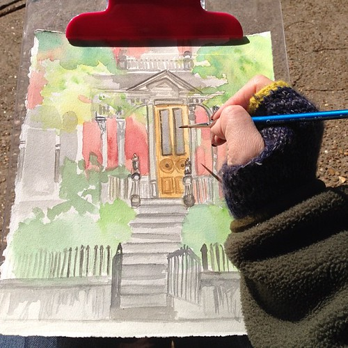 #sketch #memphisurbansketchers Mollie Fontaine | by DailyDoily