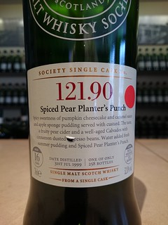 SMWS 121.90 - Spiced Pear Planter's Punch