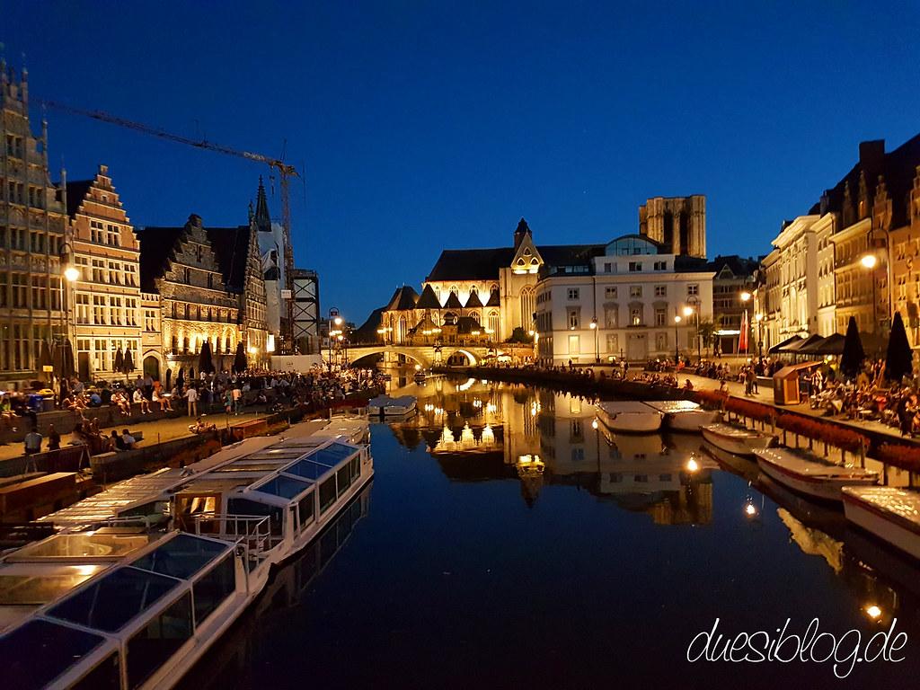 Gent Nacht Graslei Korenlei duesiblog