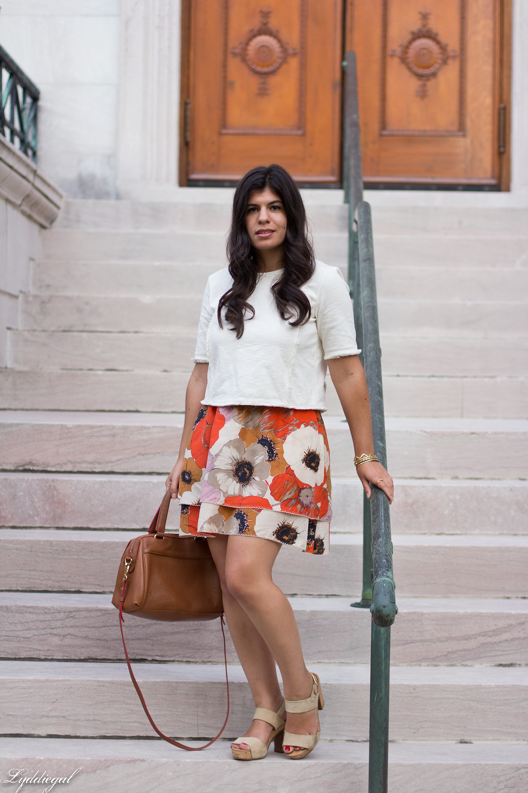 poppy print anthropologie skirt, boxy crop top-1.jpg