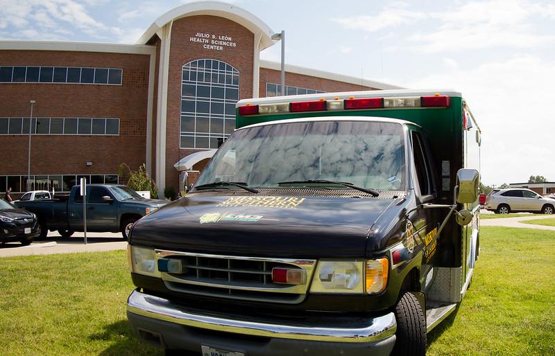 New Ambulance Wrap