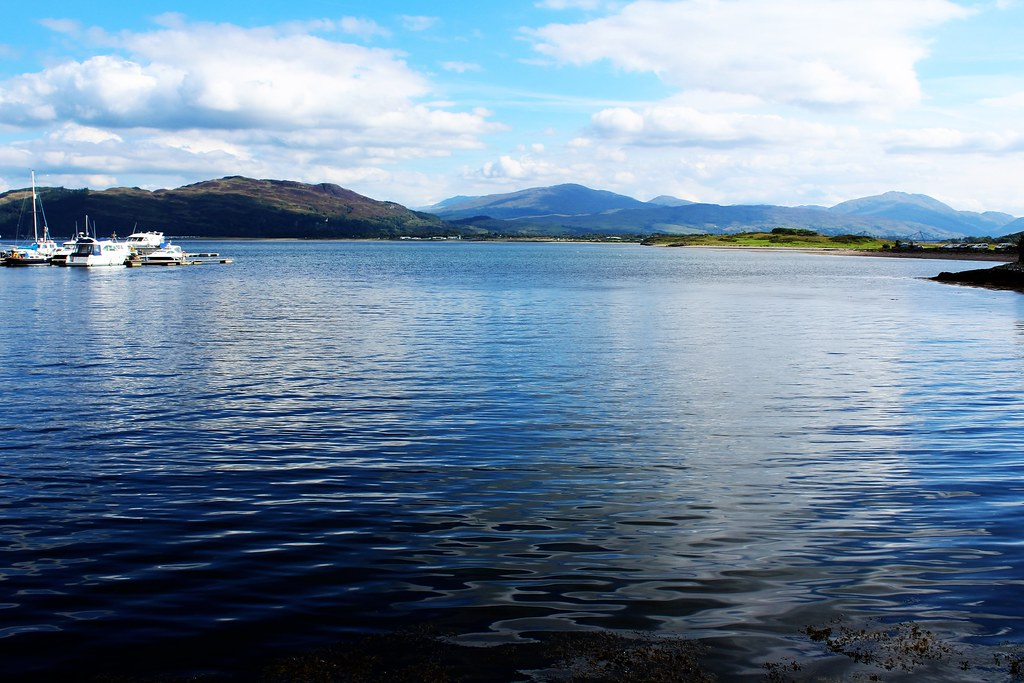 Loch Linnhe, Dunstaffnage, Scotland