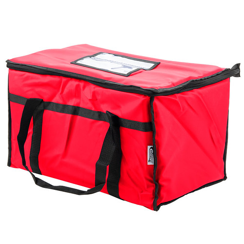 choice-22-x-13-x-15-red-insulated-nylon-food-delivery-bag-pan-carrier