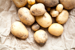 Potatoes from Little Organic Farm | by continental drift