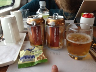 Free beer in 1st class