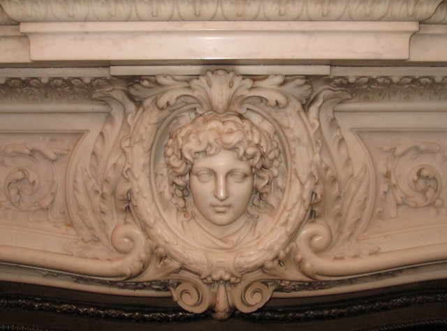 Kylemore Abbey Fireplace Detail