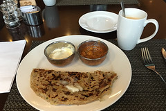 Bangalore - JW Marriot JW Kitchen Paratha