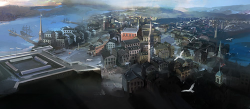 Assassin's Creed III: Bowling Green Concept | by PlayStation.Blog