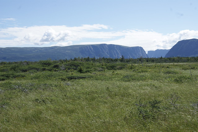 Heading to Western Brook Pond
