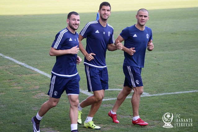 FC Banants  training  03/09/2016