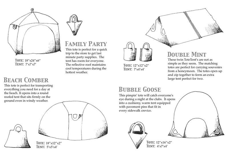 Tote Tent