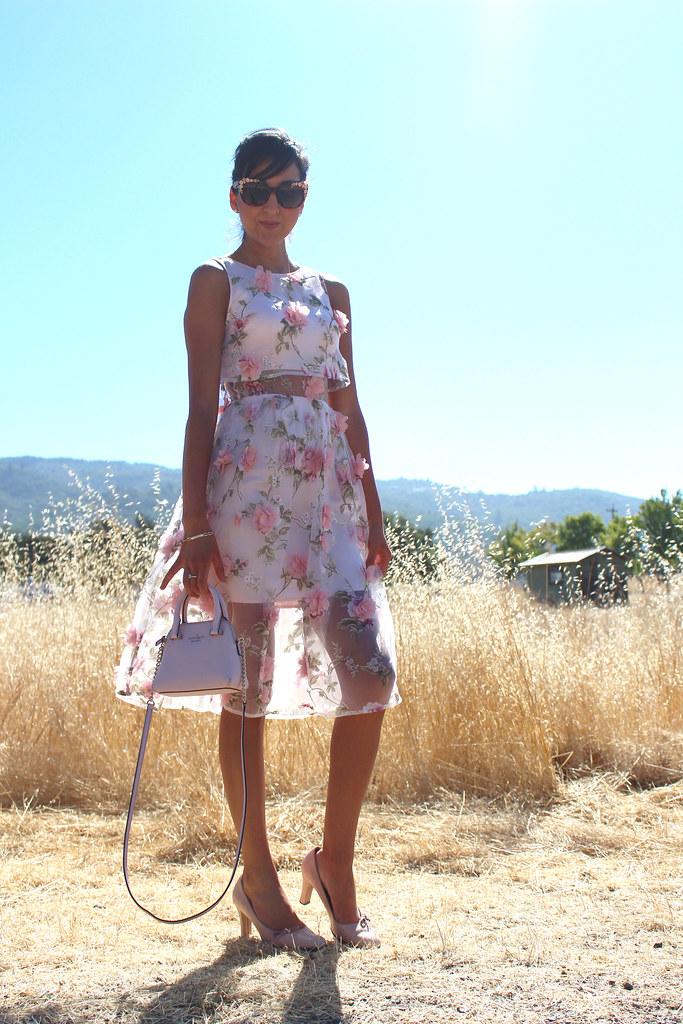 3D Floral Dress 8