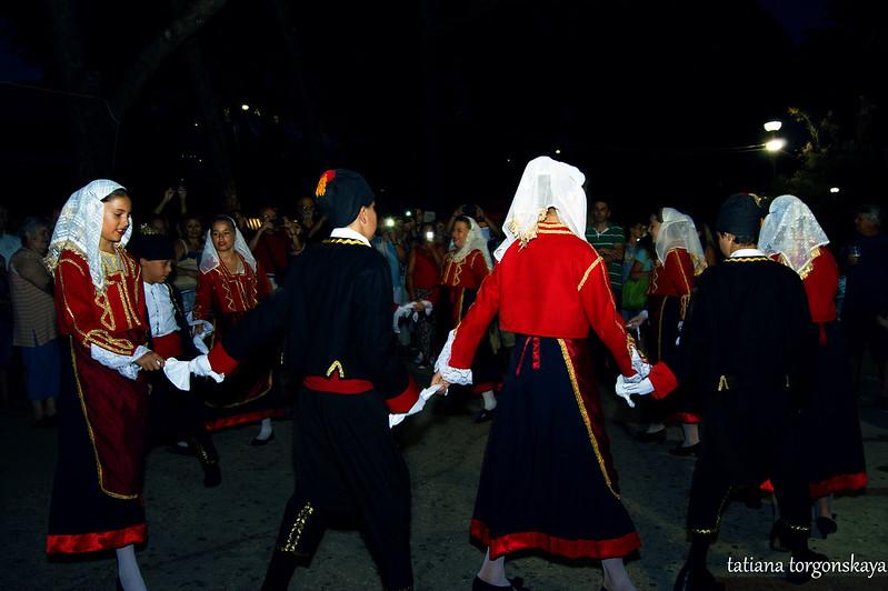 """Традиционный бокельский танец в исполнении KUD """"Igalo"""""""