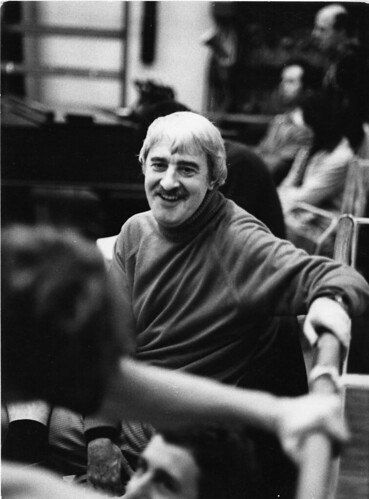 Kenneth MacMillan during rehearsals for La Fin du jour.  © 1979 Roy Round | by Royal Opera House Covent Garden