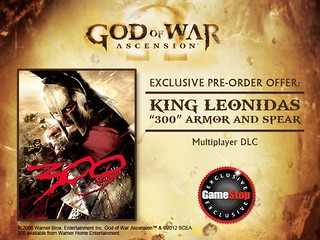 God of War: Ascension - King Leonidas Pre-order Bonus | by PlayStation.Blog