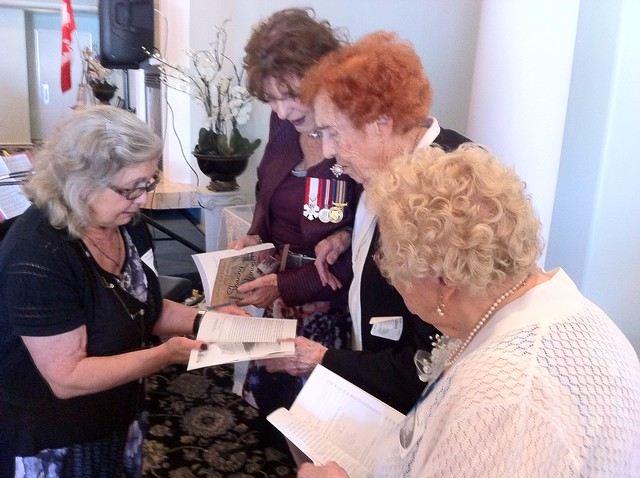 Edmonton War Brides 70th Anniv, June 26, 2016