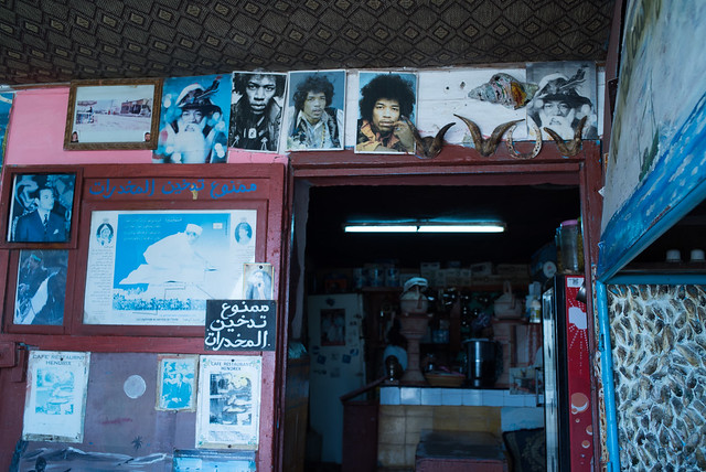 Jimi Hendrix Cafe in Diabat, Morocco, Aug 2016 (35mm) -00088