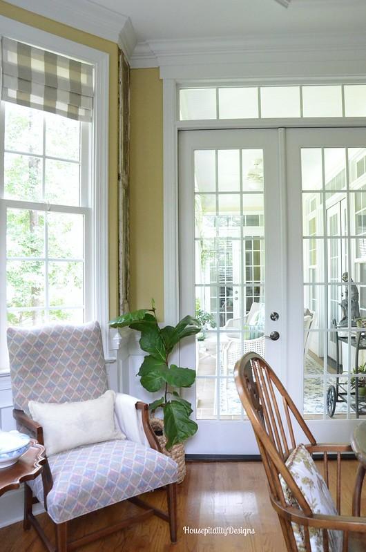 Dining Room/Fiddle Leaf Fig - Housepitality Designs