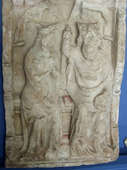 Coronation of the Queen of Heaven (14th Century English alabaster)