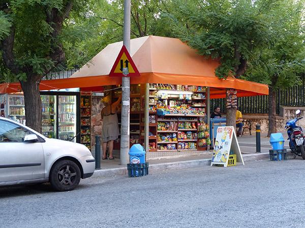 kiosque orange