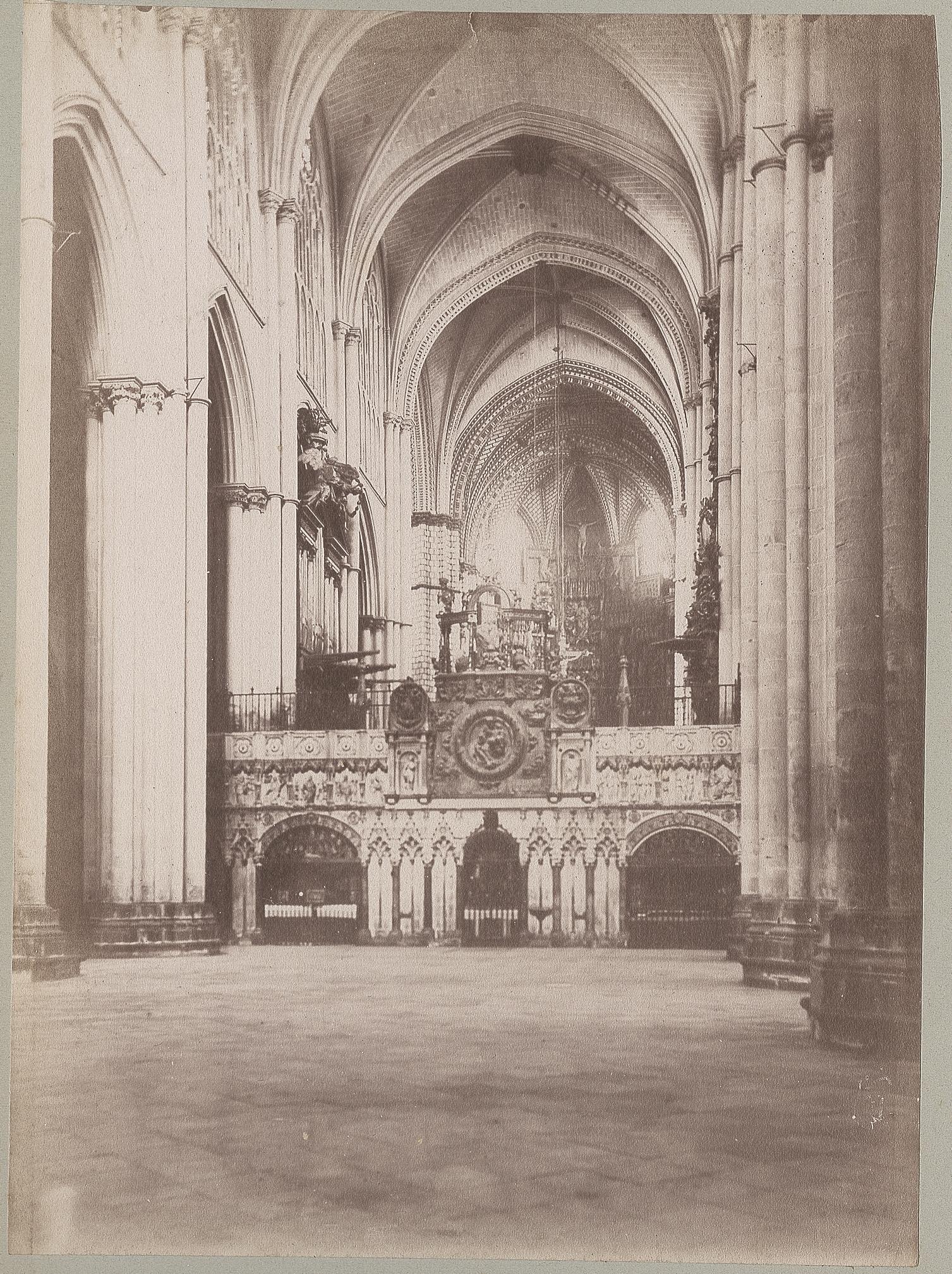 Catedral de Toledo en 1886 © Archives départementales de l'Aude