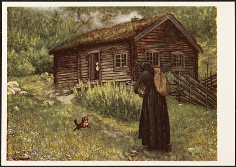 Theodor Kittelsen - Smørbokk