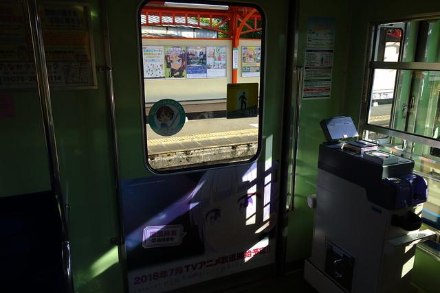 2016/08 叡山電車×NEW GAME! 2016アニメ版ラッピング車両 #24