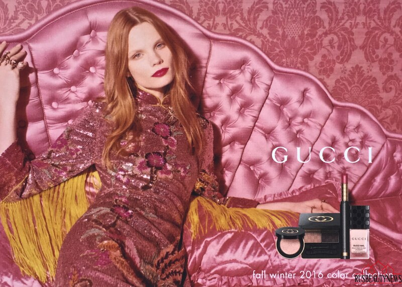 Gucci Beauty Fall-Winter 2016 Makeup Collection