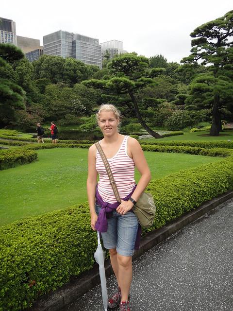Kejserliga palatset trädgård/park