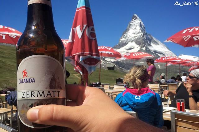 Cerveza Calanda, Zermatt