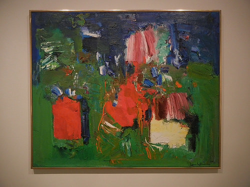 DSCN9379 _ Summer Bliss, 1960, Hans Hofmann, BAM Closing, 21 December 2014
