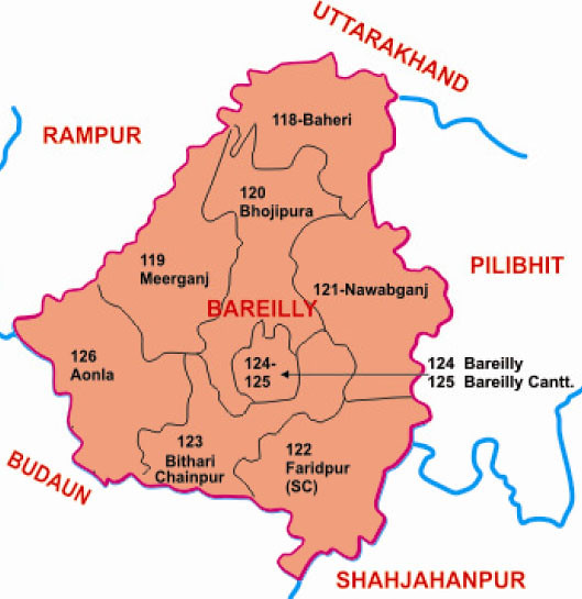 Bareilly district Uttar Pradesh Election 2017