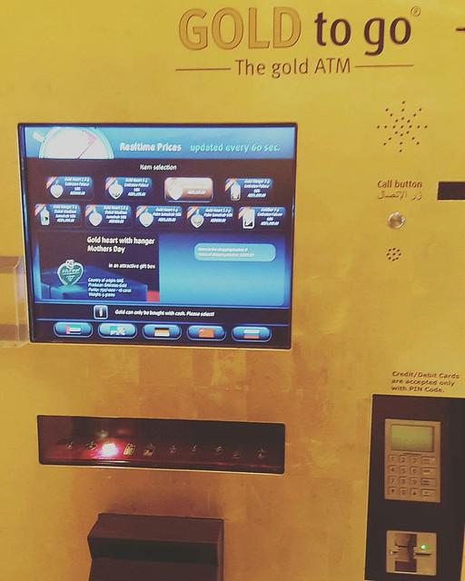 Gold ATM, Emirates Palace Hotel