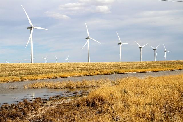 Summerview Wind Farm in southern Alberta - 07